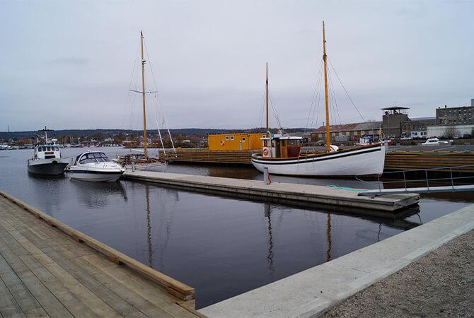 Gjestehavn på Vaerste